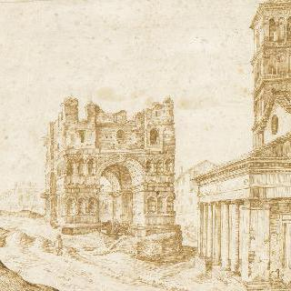 로마의 야누스 시원과 산 조르지오 인 발라브로 교회