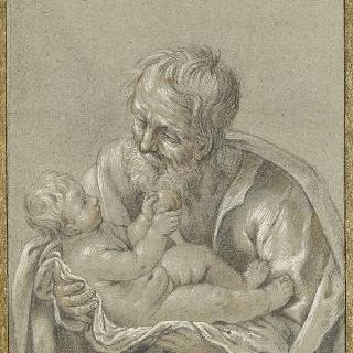 아기 예수를 안은 성 요셉