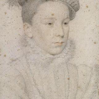 젊은 남자로 표현된 앙리 3세의 초상