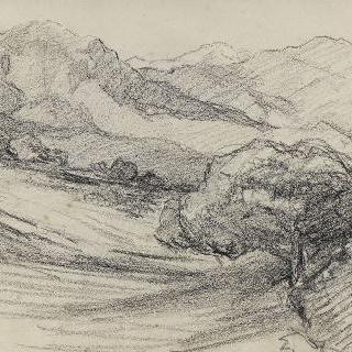 화첩 A. 아라냐스쿠 산의 전경