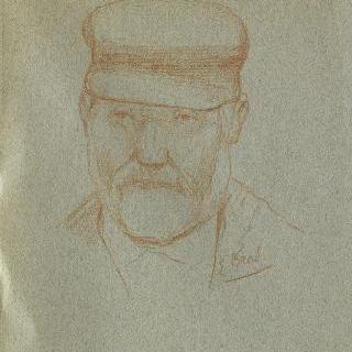 모자를 쓰고 있는 남자의 초상