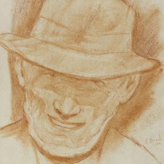 모자를 쓴 남자의 초상