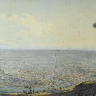 베르티에 장군의 명령을 받고 로마로 입성하는 프랑스 군대, 1798년 2월 11일