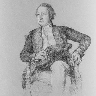 판화가 앙리켈 뒤퐁 씨의 초상