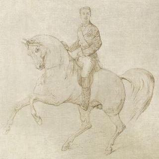 말을 탄 황태자