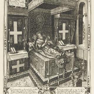 루브르에 전시된 앙리 4세의 시신