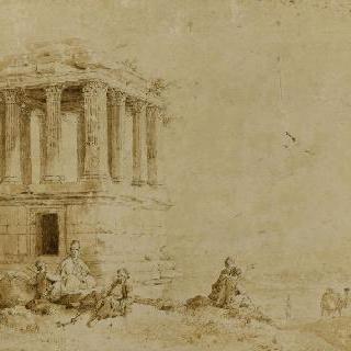 밀로사 부근의 무덤
