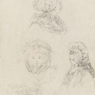 여인의 얼굴들 : 18세기 머리장식