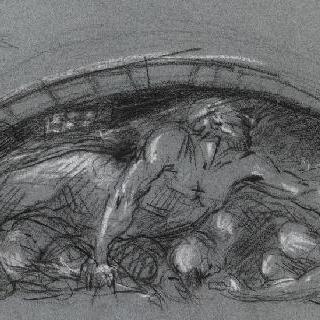 지하의 우골린과 그의 아들들