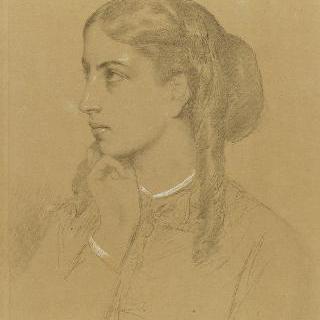 에체고이엔 백작부인의 젊은 시절 초상