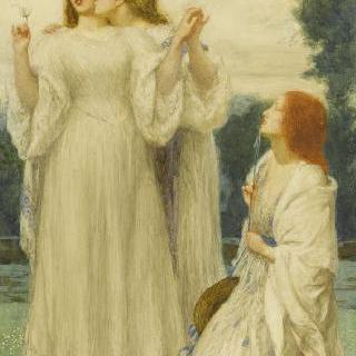 신탁 : 공원의 젊은 세 여인
