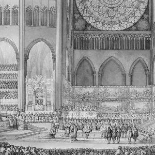 생 드니에서 열린 마리 드 메디시스의 대관식을 위한 습작, 1610년 5월 13일