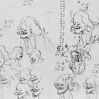 16개의 풍자적인 얼굴