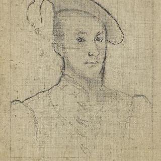 르네상스 시대의 남자의 초상을 모사한 복제화