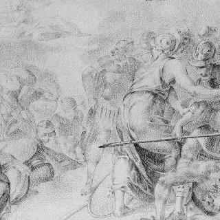 반역자들의 항복과 피난