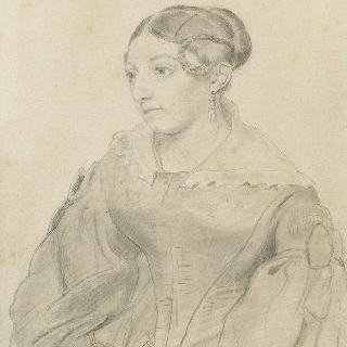 화가의 부인, 데브로쉐 부인의 초상