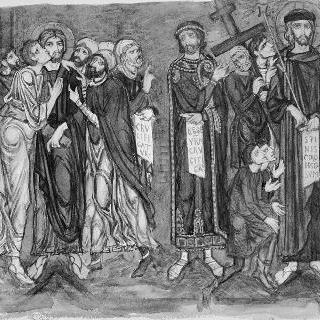 베니스의 생 마르크 모사작 : 유다의 입맞춤, 그리스도의 심판