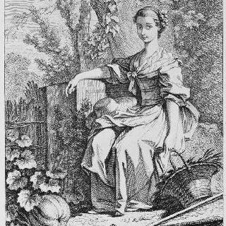 여자 정원사