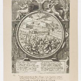 요새를 공격하는 메르빌과 트레슬롱, 1577년 8월 1일