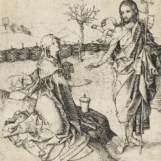 막달레나 앞에 나타난 정원사 예수 그리스도