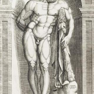 파르네스의 헤라클레스의 고대 동상