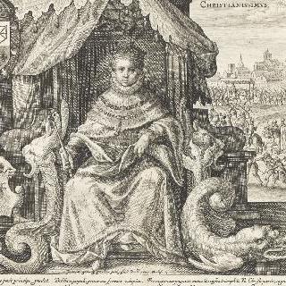 왕좌에 앉은 루이 13세