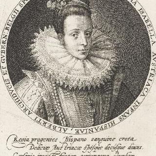 이사벨 도트리슈, 알베르 대공의 부인