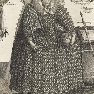 엘리자베스 당글레테르의 초상
