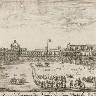 카사멘토 군대의 축제 행렬