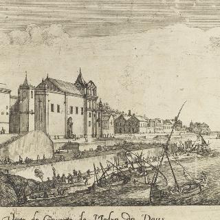 마드레 데 데우스 수도원의 전경