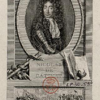 니콜라 드 카티나, 프랑스의 장교 (1637-1712)