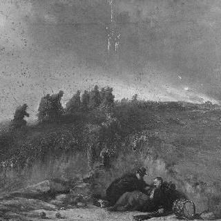 크림 전투의 장면, 1854년