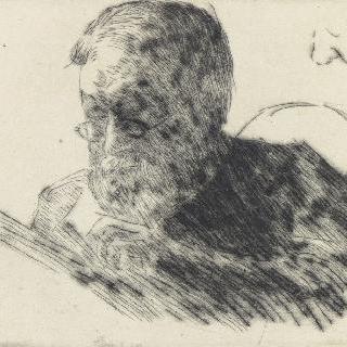 책을 읽는 펠릭스 티올리에의 초상