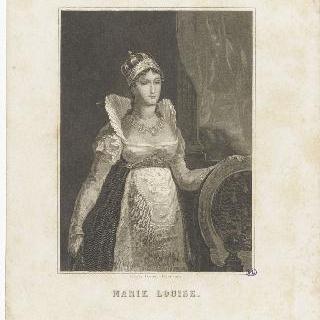 마리 루이즈의 초상