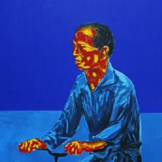 자전거 타는 남자