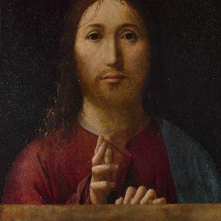 축복을 내리는 그리스도