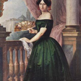 호세파 가르시아 솔리스 부인의 초상
