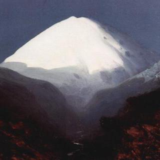 엘브루스 산, 달밤