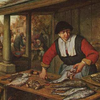 생선 파는 여자