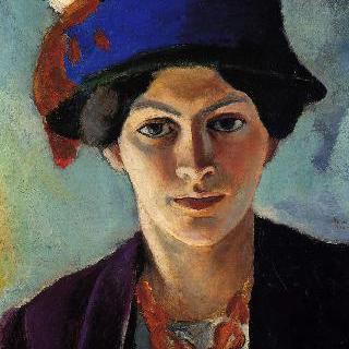 모자를 쓴 화가의 아내 초상