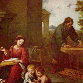 세례 요한과 함께 있는 성 가족