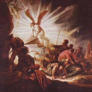 그리스도의 무덤을 여는 천사
