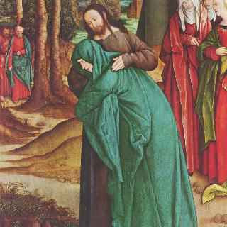 마리아와 작별하는 그리스도
