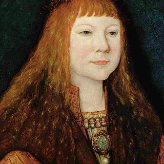 헝가리의 루트비히 2세의 초상