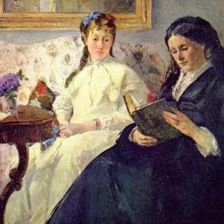 화가의 어머니와 자매