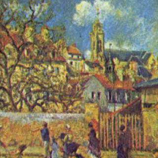 퐁투아즈의 공원