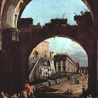 로마의 모습을 그린 카프리초 - 카피톨리노 언덕