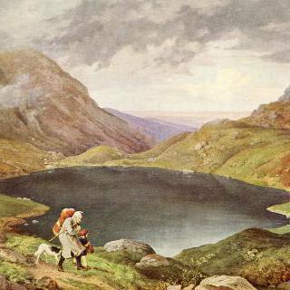 리젠 산맥의 연못