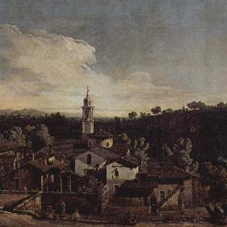 가차다 마을, 남쪽에서 본 모습 (가차다를 그린 베두타)