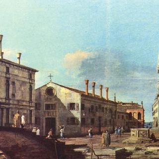 예수회 교회와 광장